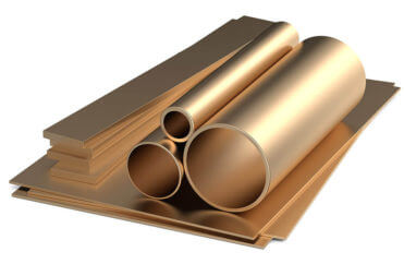 rolled metal copper