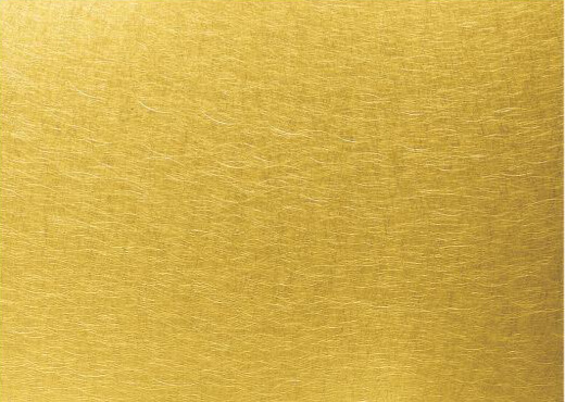 gold colour vibration aluminium metal